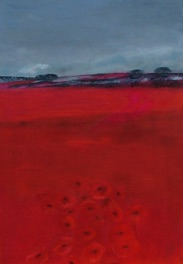 Red Poppies On The Horizon